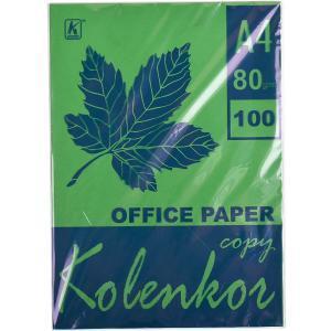 Бумага для ксерокса, А4 100 листов 80 г/м² интенсив ASPARAGUS               41А