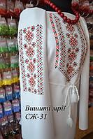 Женская заготовка сорочки СЖ-31, фото 1