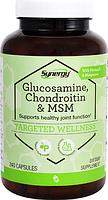 Глюкозамин, хондроитин и МСМ с вит С и марганцем, Vitacost, Glucosamine Chondroitin & MSM with Vit. C , 240 к.