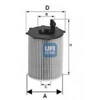 Фильтр масляный двигателя Citroen Berlingo 1.6HDI UFI 25.037.00