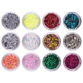 Слюда для ногтей Beauty sky nail professional supplies, 6-2