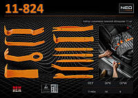 Набор съемников внутренней обивки автомобиля 11шт., NEO 11-824