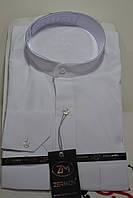 Мужская рубашка с воротником - стойкой ZERMON  (размеры  S.M)