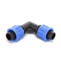 Угол Presto-PS зажимной для капельной ленты (ЕТ-0117)