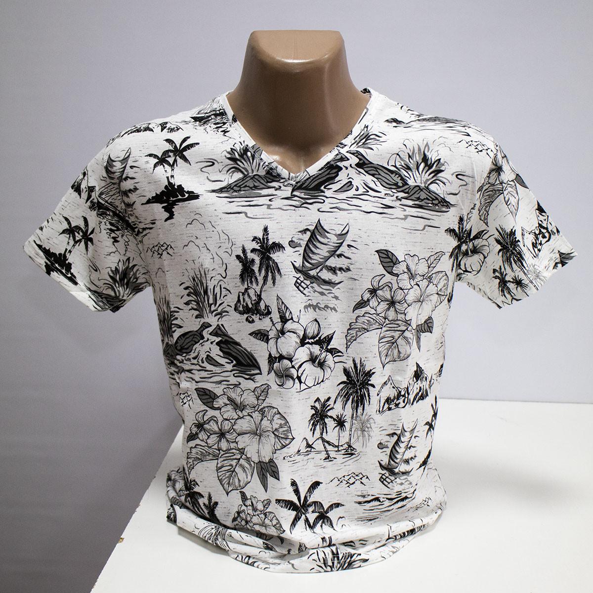 Чоловіча футболка бавовна пр-під Туреччина L5415