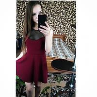 наше платье декольте сеточка фото прислала покупательница