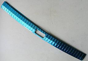 Skoda Superb 3 накладка защитная на задний бампер внутренняя