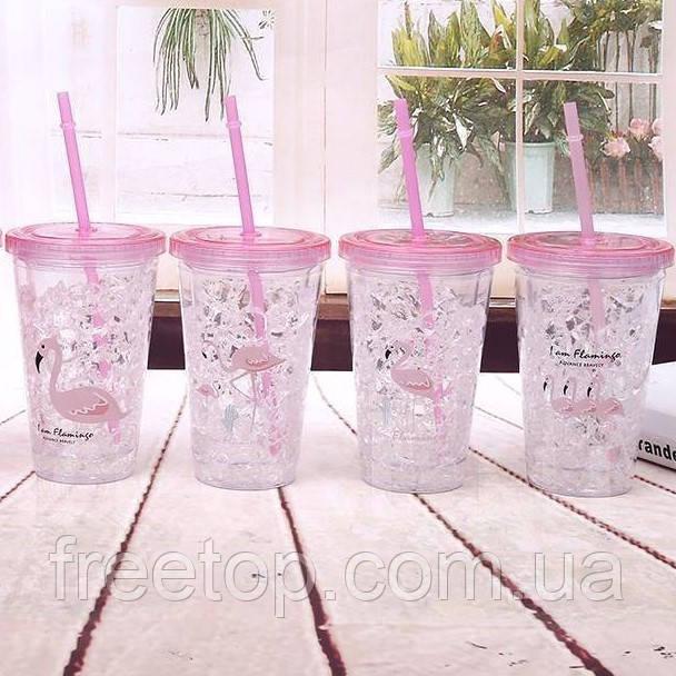 Термостакан Ice cup Фламинго 450 мл