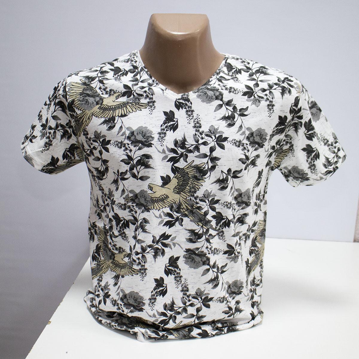Мужская футболка хлопок пр-во Турция L5425