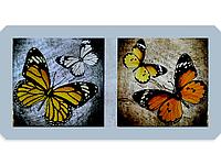 Набор для вышивки картины Бабочки 100х55см