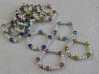 Красивые женские браслеты жемчуг с крестиком, фото 1