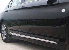 Honda Accord 9 молдинги на двери хром тип C пластик ABS