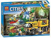 Конструктор Bela City 10713 «Вертолёт для доставки грузов в джунгли», (1298 дет.)