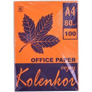 Бумага для ксерокса, А4 100 листов 80 г/м² насыщенная SAFFRON