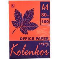 Бумага для ксерокса, А4 100 листов 80 г/м² насыщенная RED