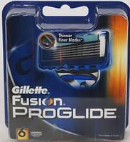 Gillette Fusion Proglide упаковка 6 штук оригинал