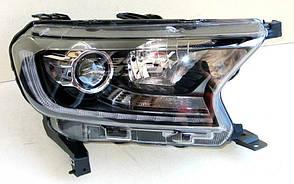 Ford Ranger  T7 оптика передняя ксеноновая