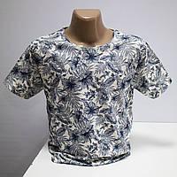 Мужская футболка большого размера хлопок Турция L5431G