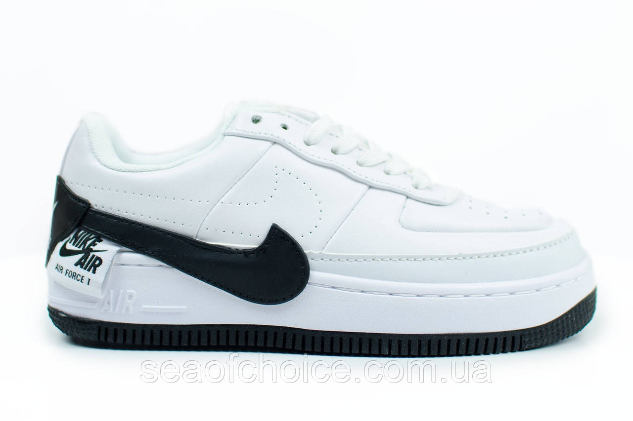 806b5a98 Женские Кроссовки Nike Air Force 1 Jester White Black — в Категории ...