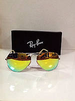 Ray Ban очки Aviator Large Metal солнцезащитные