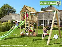 Детская площадка Джангл Джим Cabin Swing, фото 1