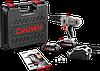 Аккумуляторная дрель-шуруповерт Crown CT21056L BMC, фото 2