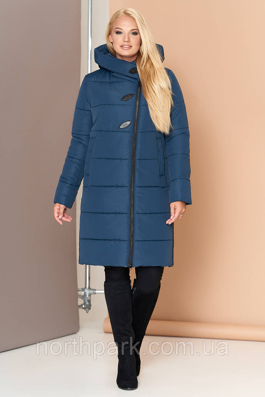 Довга зимова куртка VS 191, мурена