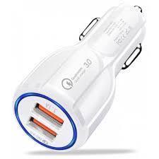 Адаптер Car USB 2 usb QC3.0 SY 681, Автомобильное зарядное устройство юсб, Зарядное в авто от прикуривателя