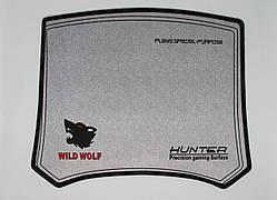 Коврик для мышки HUNTER WILD WOLF 290х240мм