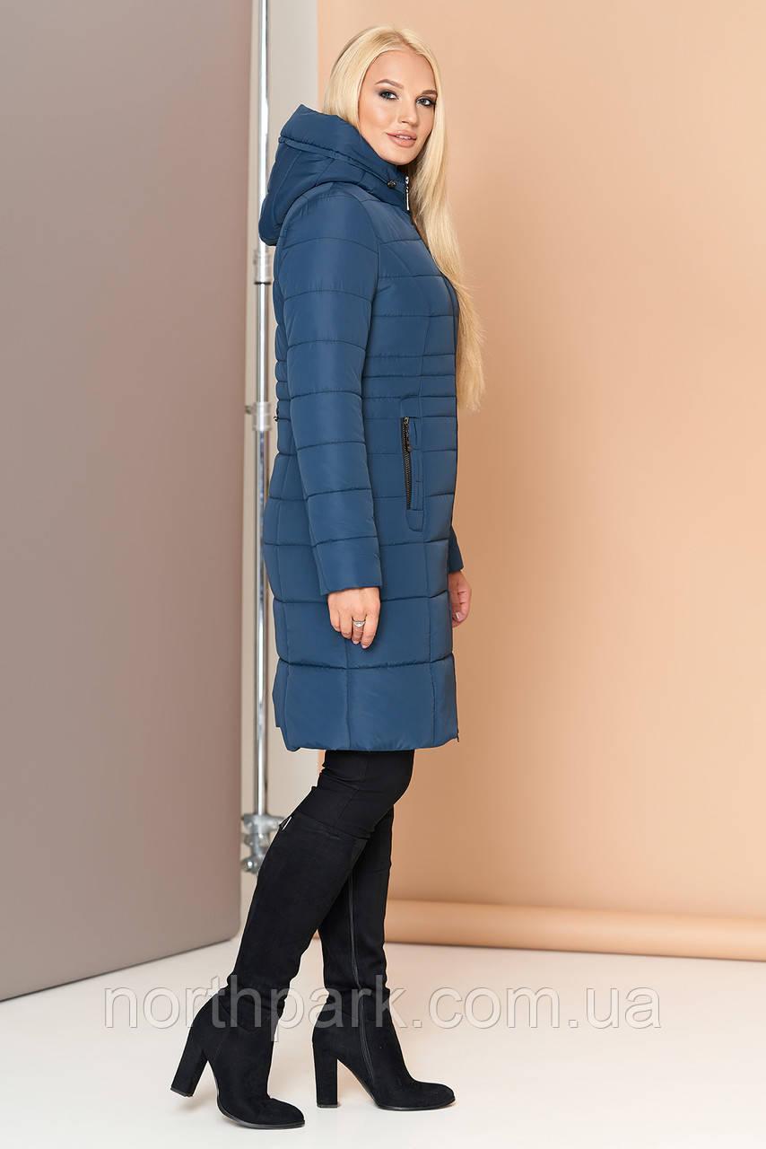 Довга зимова куртка VS 190, мурена