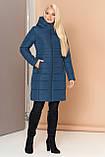 Довга зимова куртка VS 190, мурена, розмір 46, фото 3