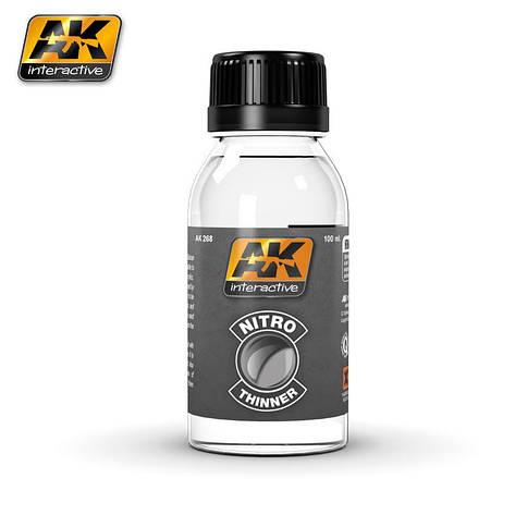 Очиститель - разбавитель 100 мл. AK-INTERACTIVE AK268, фото 2