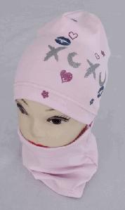 Комплект трикотажный шапка и хомут м 5514