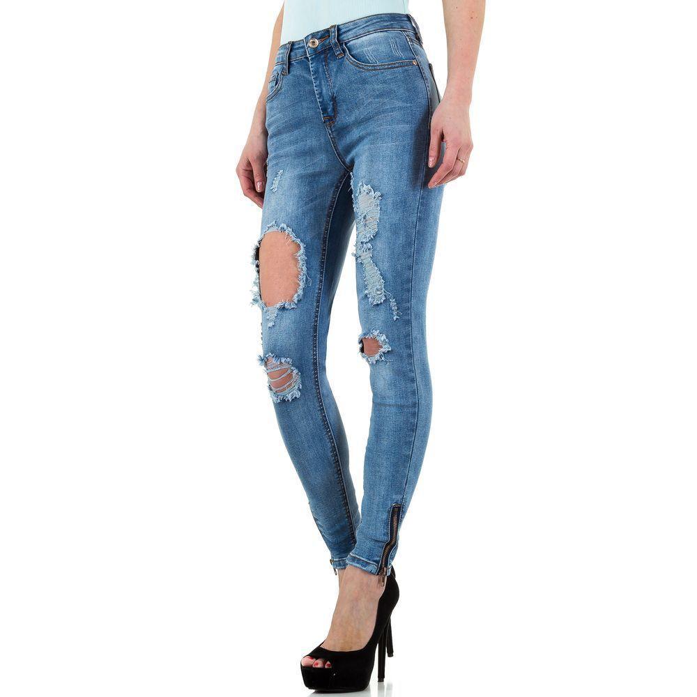 Женские джинсы Blue Rags, размер 38 - синий - KL-J-26741-синий 38