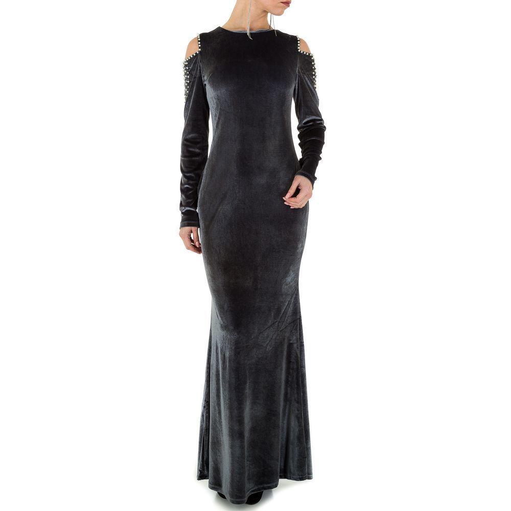 Женское платье от Emmash Paris, размер M/38 - D. grey - KL-WJ-8063-D. grey M