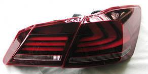 Honda Accord 9 оптика задняя стиль Lexus  LED светодиодная красная