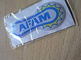 Наклейка s силиконовая мото Afam 65х30х1,7мм Афам запчасти на мотоциклы авто  , фото 3