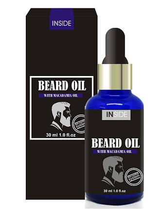 Масло для догляду за бородою з феромонами Beard Oil Macadamia, 30 мл, фото 2