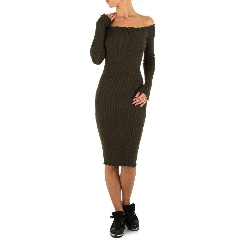Женское платье от Emmash, размер one size - хаки - KL-158-хаки