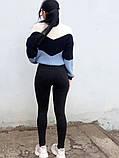 Джинси жіночі Skinny Fit з високою посадкою HEPYEK чорний, фото 6