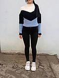 Джинсы женские Skinny Fit с высокой посадкой HEPYEK  черный, фото 4