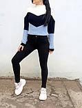 Джинсы женские Skinny Fit с высокой посадкой HEPYEK  черный, фото 2