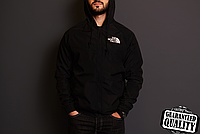 Мужская ветровка The North Face | куртка Виндранер | Чоловіча вітрівка Норз Фейс Віндранер (Черный), фото 1