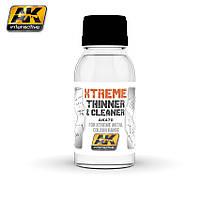 Очиститель - растворитель XTREME 100 мл. AK-INTERACTIVE AK470