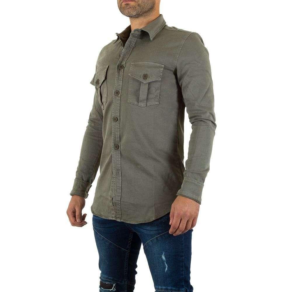 Мужская рубашка от Uniplay - серый - KL-H-6228-серый