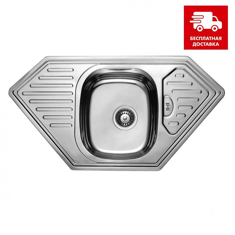 Мойка для кухни Ula hb 7801 zs (950x500) satin