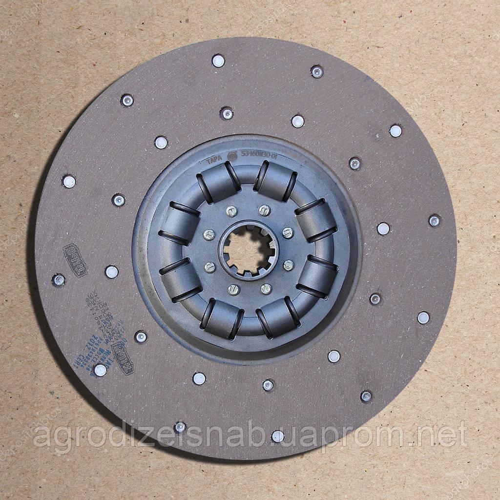 Диск сцепления Газ-53 53-1601130-01 (усиленный)