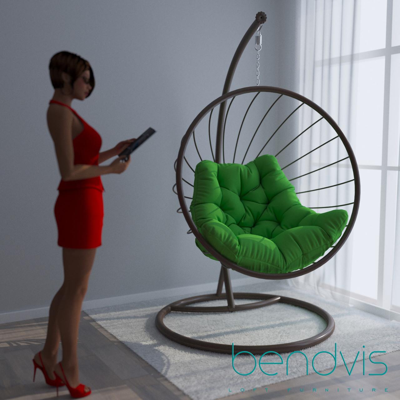Качели подвесные круглые Мария, кресло шар