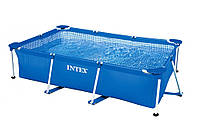 Intex 28271, каркасный бассейн 260 x 160 x 65 см Rectangular Frame Pool, фото 1