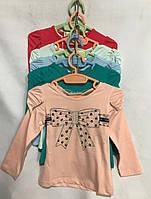 """Кофта дитяча для дівчинки, """"Бантик"""", 1-5 років, персикова, фото 1"""